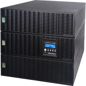 CyberPower Smart App Online OL10000RT3UTF 10000VA TF 120V, 200-240V Sine Wave LCD UPS