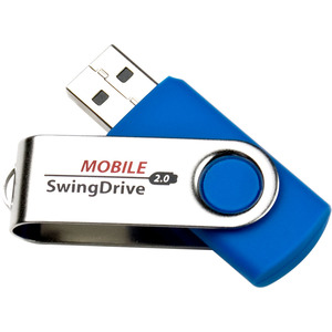 EP Memory 32GB USB 2.0 Mobile SwingDrive Flash Drive