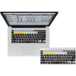 KB Covers Ableton Live Keyboard Cover for MacBook/Air 13/Pro (2008+)/Retina & Wireless