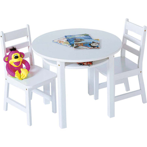 Lipper Childrens Round Table and Chair Set