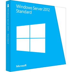 Microsoft Windows Server 2012 Standard 64-bit - License and Media - 2 Processor - OEM