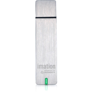 Open Box: Open Box: REFURBISHED: Imation Corp. - IMATION ENTERPRISE D250 8GB SECURE FLASH DRIVE POWERED BY IRONKEY. FIPS 140-2