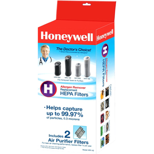Honeywell HRF-H2 True HEPA Replacement Filter - 2 Pack