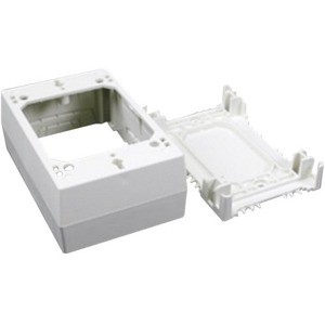 1-3/4IN WHITE XDEEP OUTLET BOX