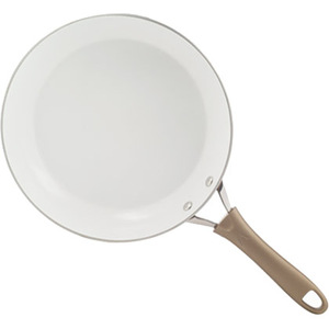 "Pure Living 12"" Fry Pan Red"