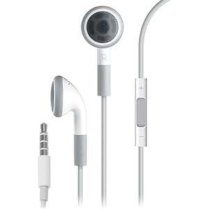 4XEM 4XEARPHONESWH EARPHONES W/ APPLE CONTROLLER