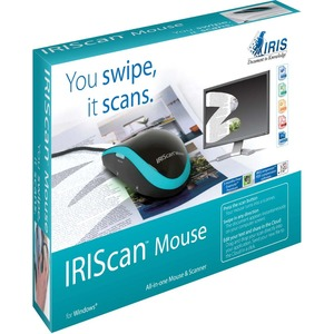 I.R.I.S. IRIScan Mouse Scanner - 300 dpi Optical