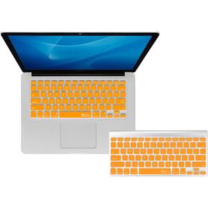 KB Covers Orange Checkerboard Keyboard Cover