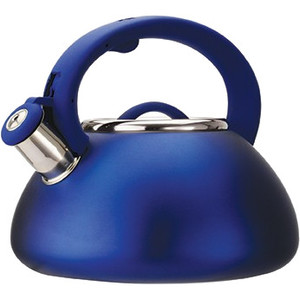 Primula Avalon 2.5 Qt Whistling Kettle - Matte Blue