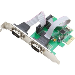 SYBA Multimedia 2-port Serial PCIe, x1, Revision 1.0a, (Full & Low Profile)