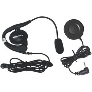 Motorola Talkabout 1884 PTT Button & Headset With Boom Microphone