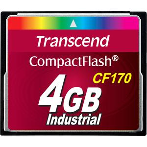 Transcend CF170 4 GB CompactFlash