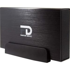 Fantom Drives Professional 2TB 7200RPM USB3.0/eSATA/Firewire400/800 aluminum external hard drive - Quad interface