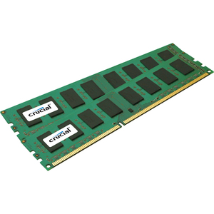 Crucial 4GB, 240-pin DIMM, DDR3 PC3-10600 Memory Module