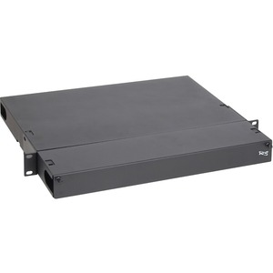ICC Fiber Optic Rack Mount Enclosure, 3-Panel 1 RMS