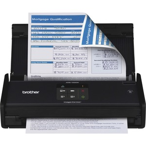 Brother ImageCenter™ ADS-1000W Compact - Color - Desktop Scanner with Duplex and Wireless Networking
