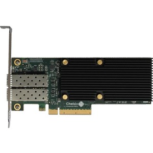 Chelsio High Performance, Dual Port 10 GbE Unified Wire Adapter
