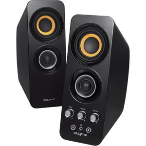 Creative MF1655 2.0 Speaker System - Wireless Speaker(s) - Black