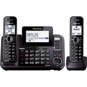 Panasonic Link2Cell KX-TG9542B DECT 6.0 1.90 GHz Cordless Phone - Black