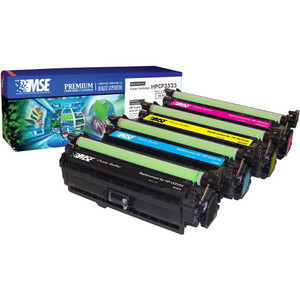 MSE Remanufactured Toner Cartridge - Alternative for HP (CE253A) - Magenta