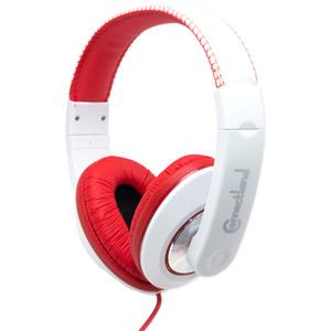 SYBA Multimedia Binaural Design Red / White Headset