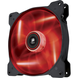 Corsair Air Series AF140 LED Red Quiet Edition High Airflow 140mm Fan