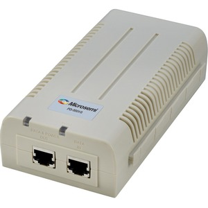Microsemi PD-5501G Power over Ethernet (PoE) Midspan Injector