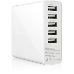 Naztech PB10400 Universal Power Bank 10400mAh - White