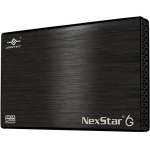 Vantec NexStar 6G NST-266S3-BK Drive Enclosure External - Black