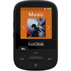 SanDisk Clip Sport SDMX24-008G 8 GB Flash MP3 Player - Black