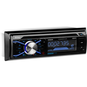 BOSS AUDIO 508UAB Single-DIN CD/MP3 Player, Receiver, Bluetooth, Wireless Remote