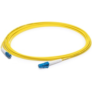 AddOn 3m LC (Male) to LC (Male) Yellow OS1 Simplex Fiber OFNR (Riser-Rated) Patch Cable