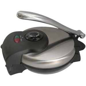 Brentwood Tortilla Maker Non-Stick in Stainless Steel TS-126