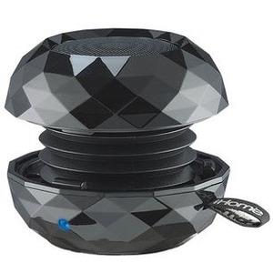 iHome Speaker System - Battery Rechargeable - Wireless Speaker(s) - Black