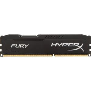 Kingston HyperX Fury Memory Black - 4GB Module - DDR3 1866MHz