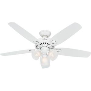 "Hunter Fan 53236 52"" Architect Series Plus (white)"