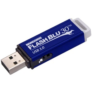 Kanguru FlashBlu30 with Physical Write Protect Switch SuperSpeed USB3.0 Flash Drive