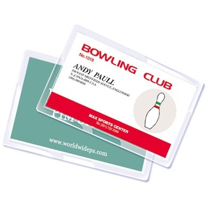 """Royal Sovereign Credit Card Size (2"""" x 3"""") 5mil Thermal Laminating Pouches - 100 pk"""