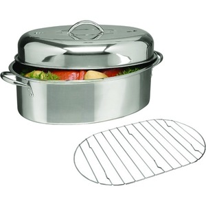 Gibson Home 16in Top Roast, Stainless Steel
