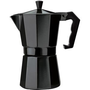 Primula 6 Cup Aluminum Stovetop Espresso Maker - Black