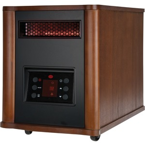 Holmes HRH7403ERE-DM 1500 Watt Infrared Console Heater with Wood Housing