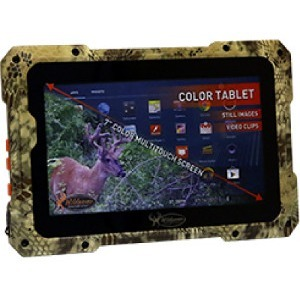 "Wildgame Innovations Trail Tab VU100 Tablet - 7"" Dual-core (2 Core) - 8 GB - Android 4.1 Jelly Bean - Black"