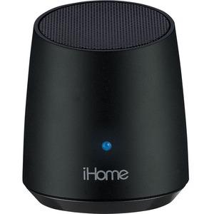 iHome iBT69 Speaker System - 3 W RMS - Battery Rechargeable - Wireless Speaker(s) - Black