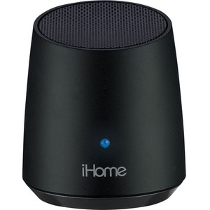 iHome iBT69 Speaker System - 3 W RMS - Battery Rechargeable - Wireless Speaker(s) - Red