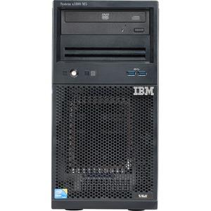 Lenovo System x x3100 M5 5457EFU 4U Mini-tower Server - 1 x Intel Xeon E3-1231 v3 Quad-core (4 Core) 3.40 GHz - 8 GB Installed DDR3 SDRAM - Serial ATA/300 Controller - 0, 1, 1 ...(more)