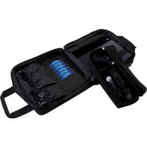CTA Digital Carrying Case for Gaming Console, Camera, Game Cartridge, Cable, Accessories, Gaming Controller