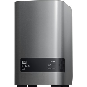 WD My Book Duo WDBLWE0080JCH-NESN DAS Array - 2 x HDD Supported - 8 TB Installed HDD Capacity