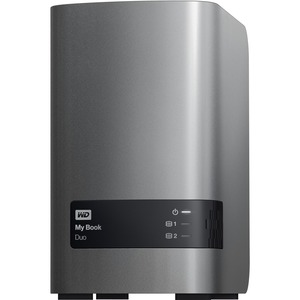 WD My Book Duo WDBLWE0040JCH-NESN - 2 x HDD Supported - 4 TB Installed HDD Capacity