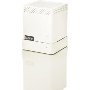 Bem Speaker System - Portable - Wireless Speaker(s) - White