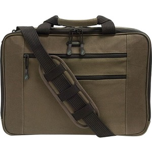 "Mobile Edge Eco-Friendly Carrying Case (Briefcase) for 16"" Tablet, iPad, Magazine, Paper Sheet, Accessories - Olive"